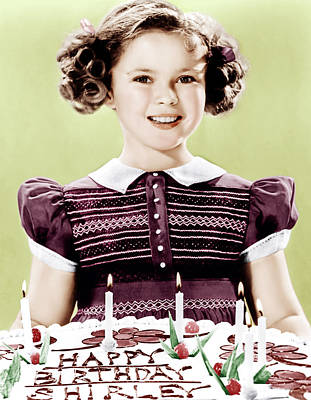 Incol Photograph - Just Around The Corner, Shirley Temple by Everett
