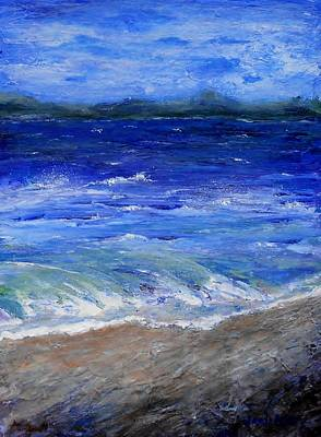 Painting - Just Beachy Redo by Jamie Frier