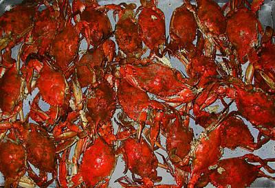 Just Crabs Art Print by Jim Ziemer