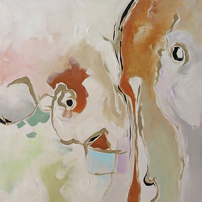 Just Imagine... Art Print by Linda Monfort