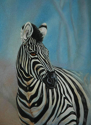 Wild At Heart Pastel - Just Looking by Linda Harrison-parsons