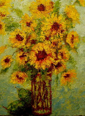 Painting - Just Picked by Marie Hamby