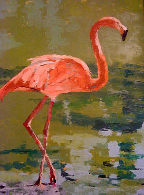 Painting - Just Walkin' by Sylvia Miller