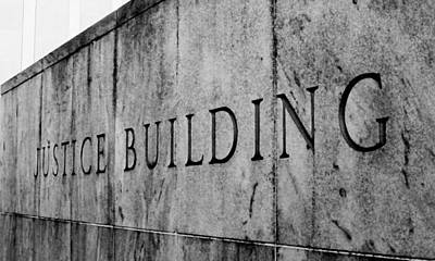 Photograph - Justice Building by Jessica J Murray