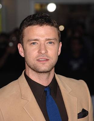 Justin Timberlake Photograph - Justin Timberlake At Arrivals For In by Everett