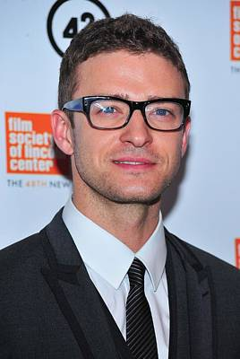 Justin Timberlake Photograph - Justin Timberlake At Arrivals For The by Everett