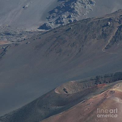 Photograph - Ka Lua O Ka Oo Haleakala Volcano Maui Hawaii by Sharon Mau