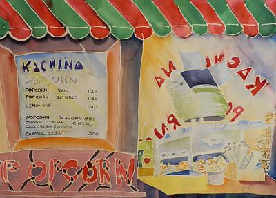 Kachina Popcorn Art Print