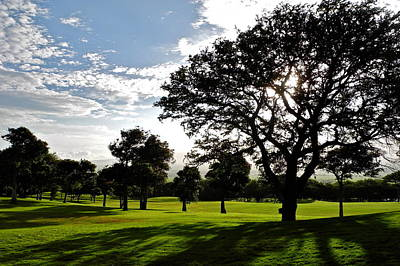 Photograph - Kahili Golf Course In Maui by Kirsten Giving
