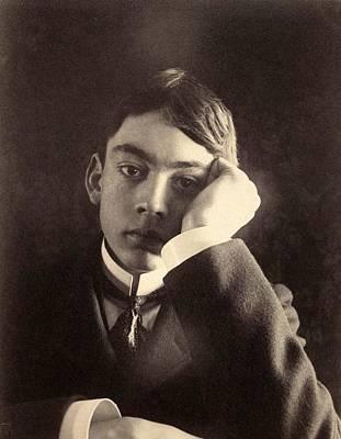 Kahlil Gibran Photograph - Kahlil Gibran 1883-1931 Lebanese Born by Everett
