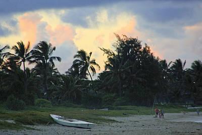 Photograph - Kailua Beach Sunset by Paula St James