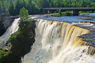 Kakabeka Falls Art Print by Bill Morgenstern