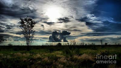 Photograph - Kalahari Clouds by Mareko Marciniak