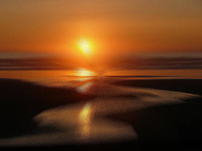 Kalaloch Sunset IIi Art Print