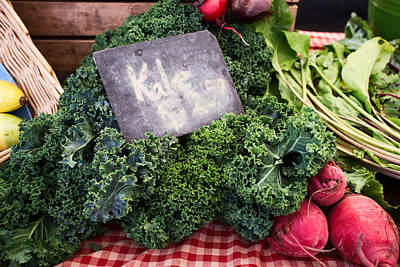 Vegetable Photograph - Kale by Tanya Harrison