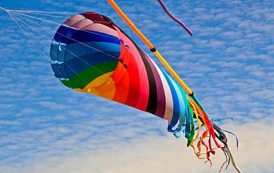 Photograph - Kaleidoscope Kite by Athena Mckinzie