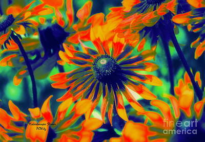 Photograph - Kaleidoscopic Flower by Patrick Witz
