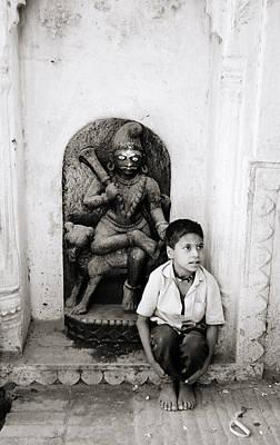 Humor Photograph - Kali In Benares by Shaun Higson