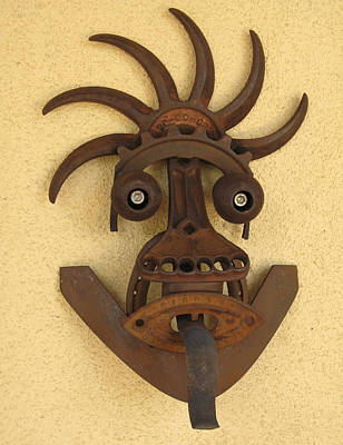 Sculpture - Kali Mask by Windy Dankoff
