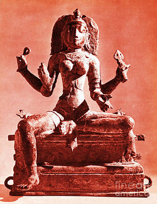 Hindu Goddess Photograph - Kali by Photo Researchers
