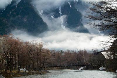 Kamikochi Kappa-bashi Bridge Art Print by I love Photo and Apple.
