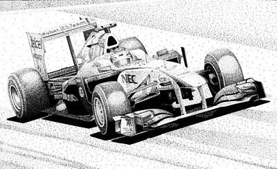 Kamui's Kart Art Print by Lyle Brown
