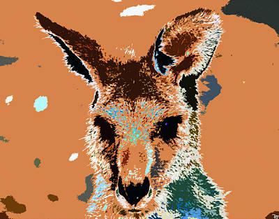 Kanga Roo Art Print by David Lee Thompson