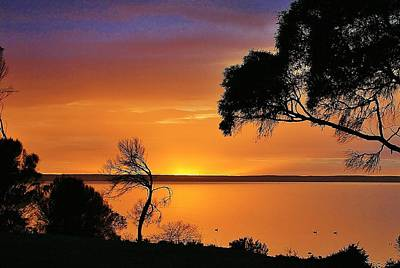 Kangaroo Island - Sunrise Art Print by David Barringhaus