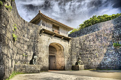 Photograph - Kankaimon Gate  by Karen Walzer