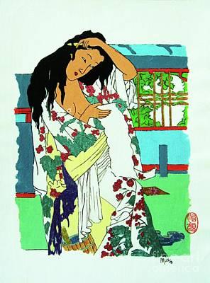 Painting - Kanojo No Nyuyoku-go by Roberto Prusso