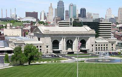 Photograph - Kansas City Union Station by Keith Stokes