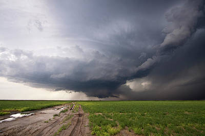 Kansas Distant Tornado Vortex 2 Art Print by Ryan McGinnis