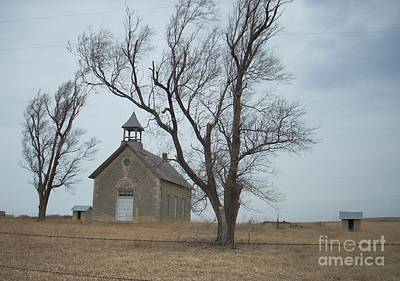 Photograph - Kansas Stone Church by Mark McReynolds