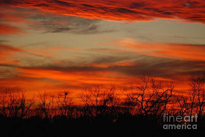 Photograph - Kansas Sunset by Mark McReynolds