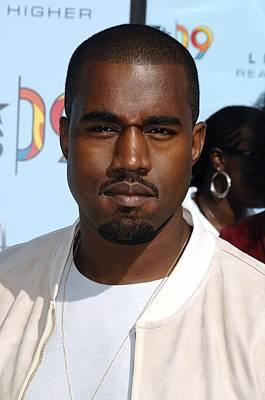 Kanye Photograph - Kanye West At Arrivals For 2009 Bet by Everett