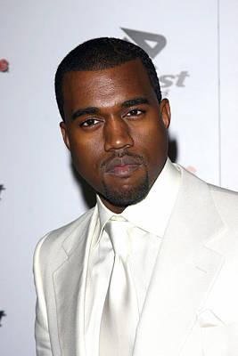 Kanye Photograph - Kanye West At Arrivals For Rolling by Everett