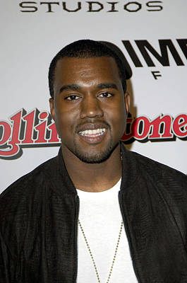 Kanye Photograph - Kanye West At Arrivals For Sin City by Everett