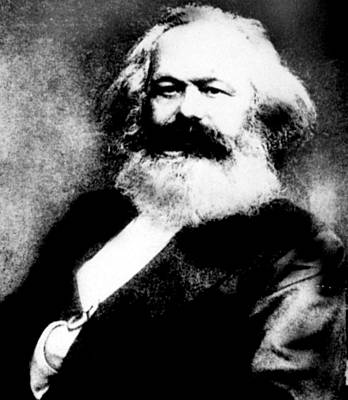 Karl Marx Print by Everett