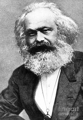 Theorist Painting - Karl Marx by Unknown