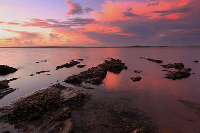 Photograph - Karuha Sunset 2 by Paul Svensen