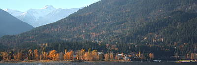 Photograph - Kaslo In The Fall by Cathie Douglas