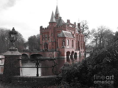 Art Print featuring the photograph Kasteel Ten Berghe by Blake Yeager