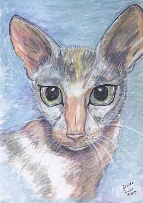 Painting - KAT by Brenda Dulan Moore