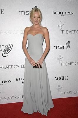 Kate Bosworth Wearing An Alexander Art Print