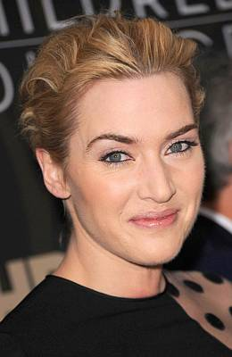 Bestofredcarpet Photograph - Kate Winslet At Arrivals For Mildred by Everett