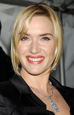 Kate Winslet Photograph - Kate Winslet At Arrivals For The by Everett