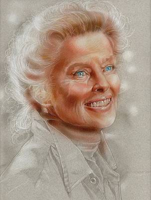 Katherine Hepburn Original by Tim  Scoggins
