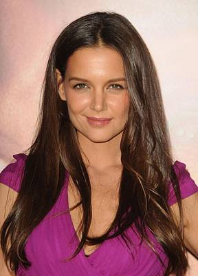 Katie Holmes At Arrivals For Jack & Art Print by Everett