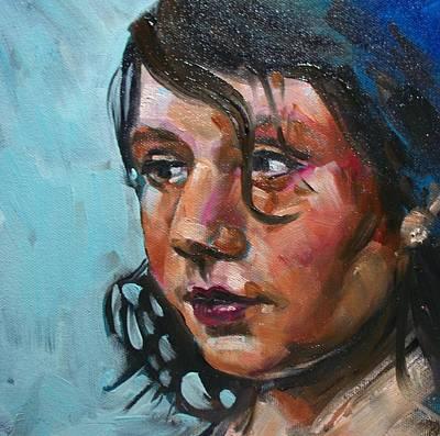 Painting - Katie by Sheila Tajima