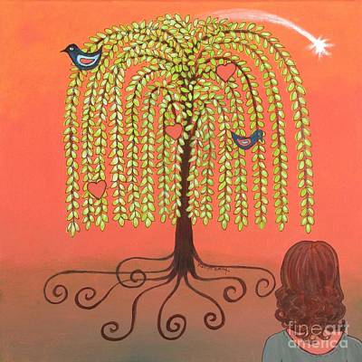 Painting - Katlyn's Wish by Marilyn Smith